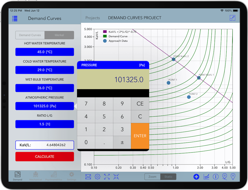 Mechanical Draft Cooling Tower Software for iPad